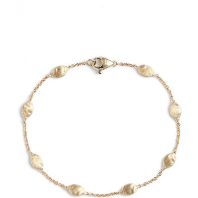Marco Bicego 18K Gold Siviglia Beaded Bracelet