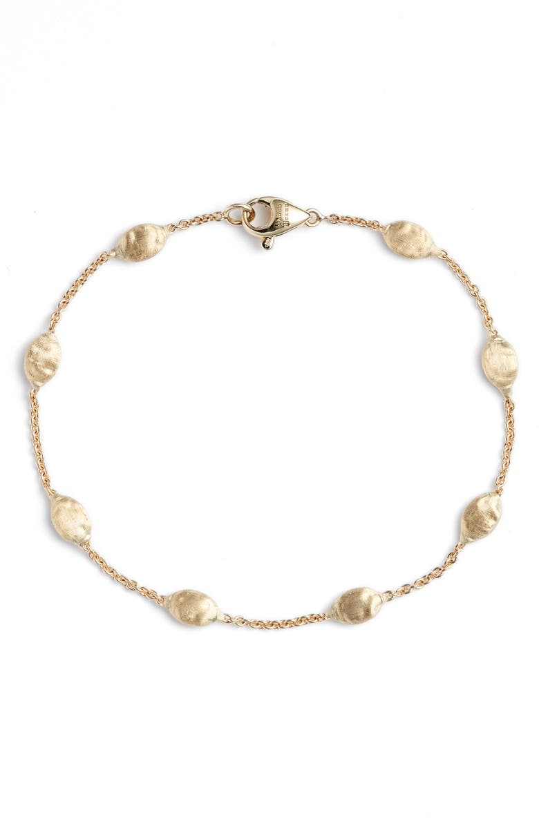 MARCO BICEGO 18K Gold Siviglia Beaded Bracelet, Main, color, YELLOW GOLD