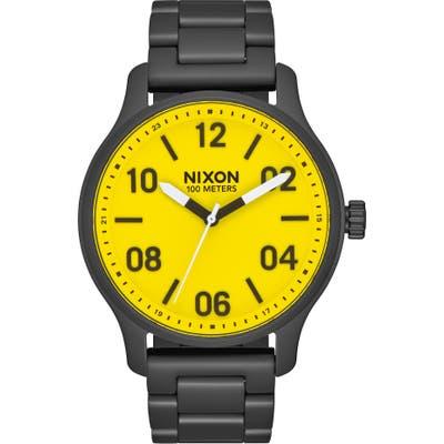 Nixon The Patrol Bracelet Watch, 42mm