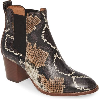 Madewell The Regan Boot- Brown