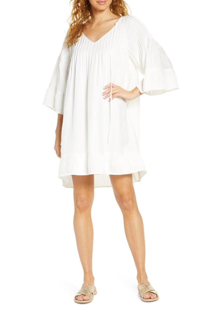 SANCIA Bellona Shift Dress, Main, color, IVORY