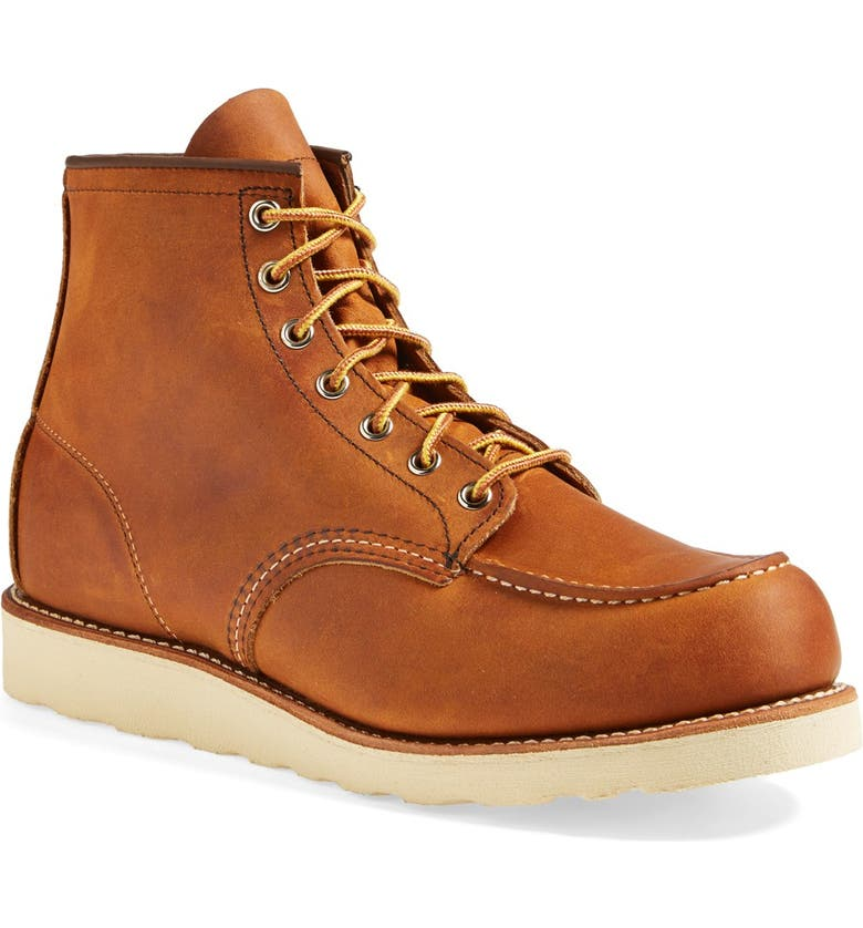 RED WING Moc Toe Boot, Main, color, 240