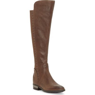 Vince Camuto Pardonal Over-The-Knee Boot- Brown