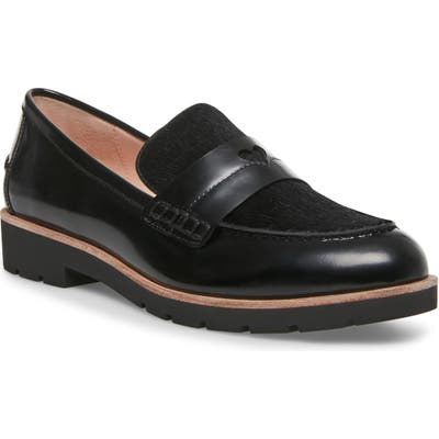 Kate Spade New York Kimi Genuine Calf Hair Loafer- Black