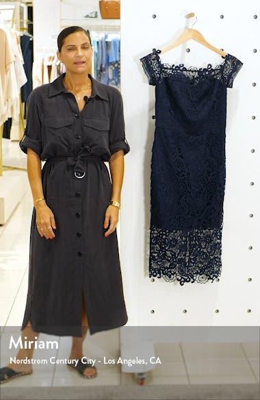 Eriella Off the Shoulder Lace Dress, sales video thumbnail