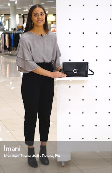 Jean Convertible Leather Crossbody Bag, sales video thumbnail