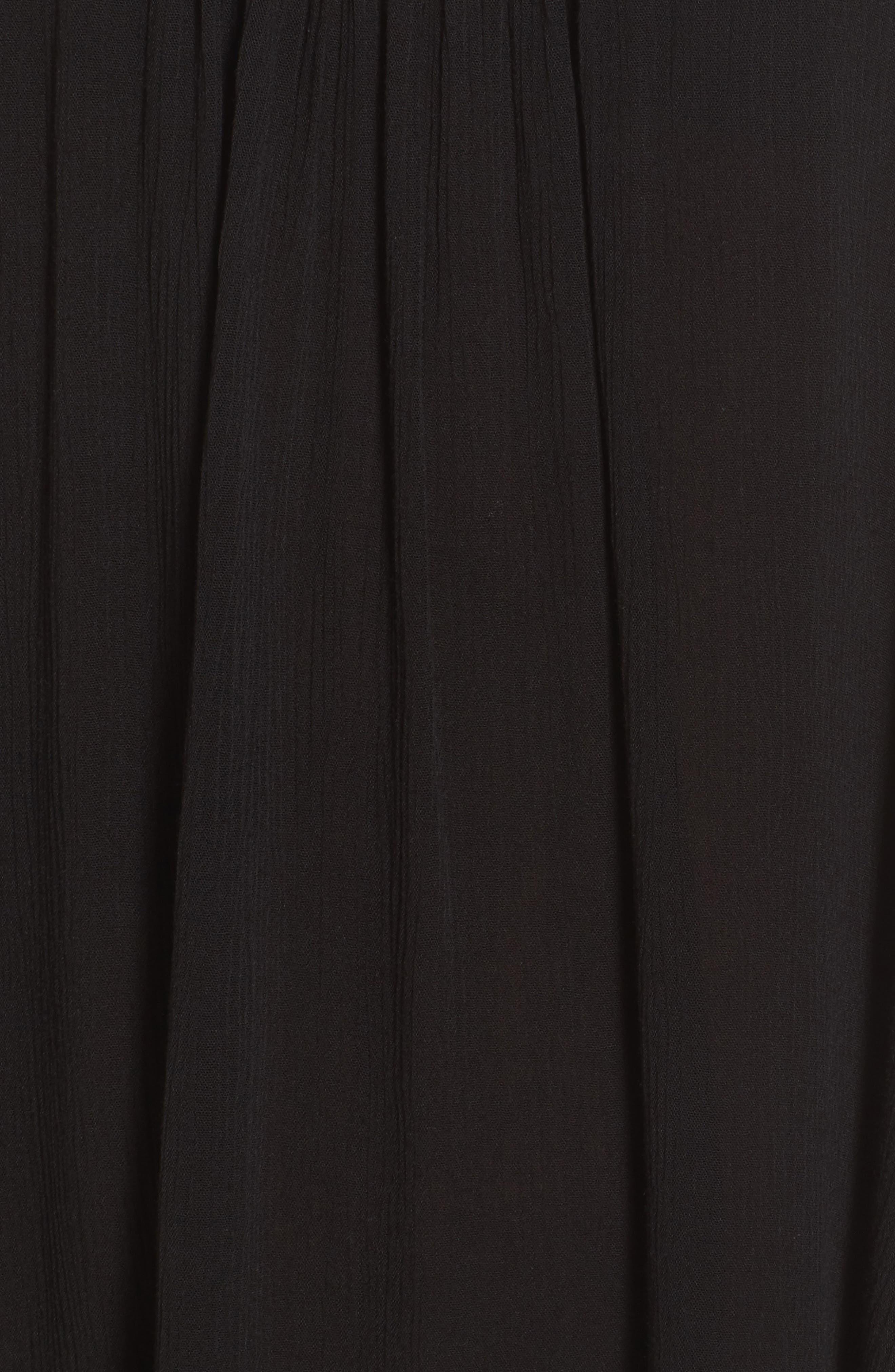 ,                             Cover-Up Slipdress,                             Alternate thumbnail 6, color,                             BLACK
