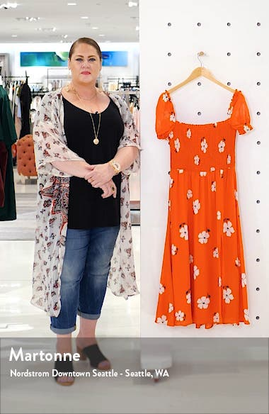 Inka Floral Print Sundress, sales video thumbnail