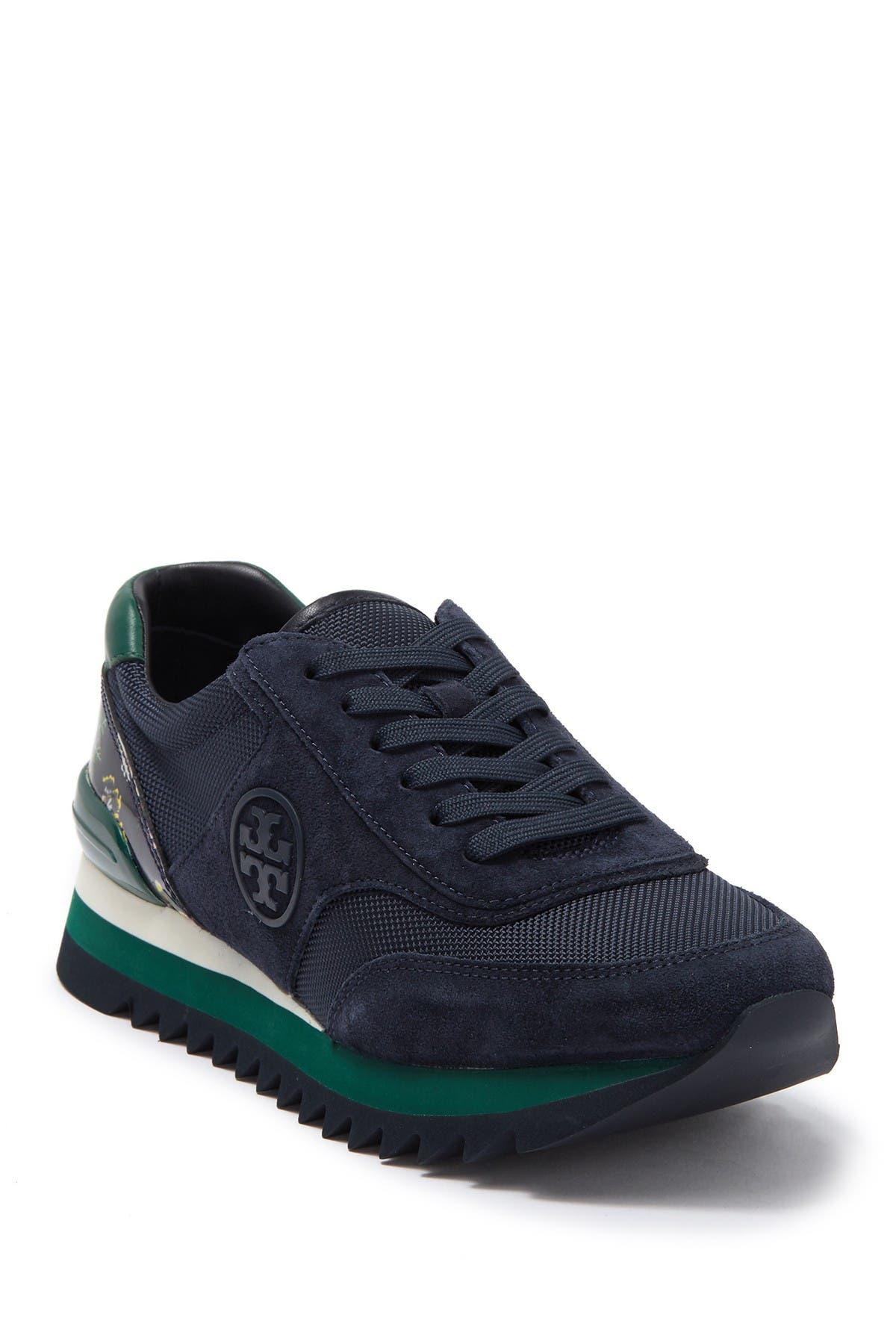 Tory Burch   Sawtooth Logo Sneaker