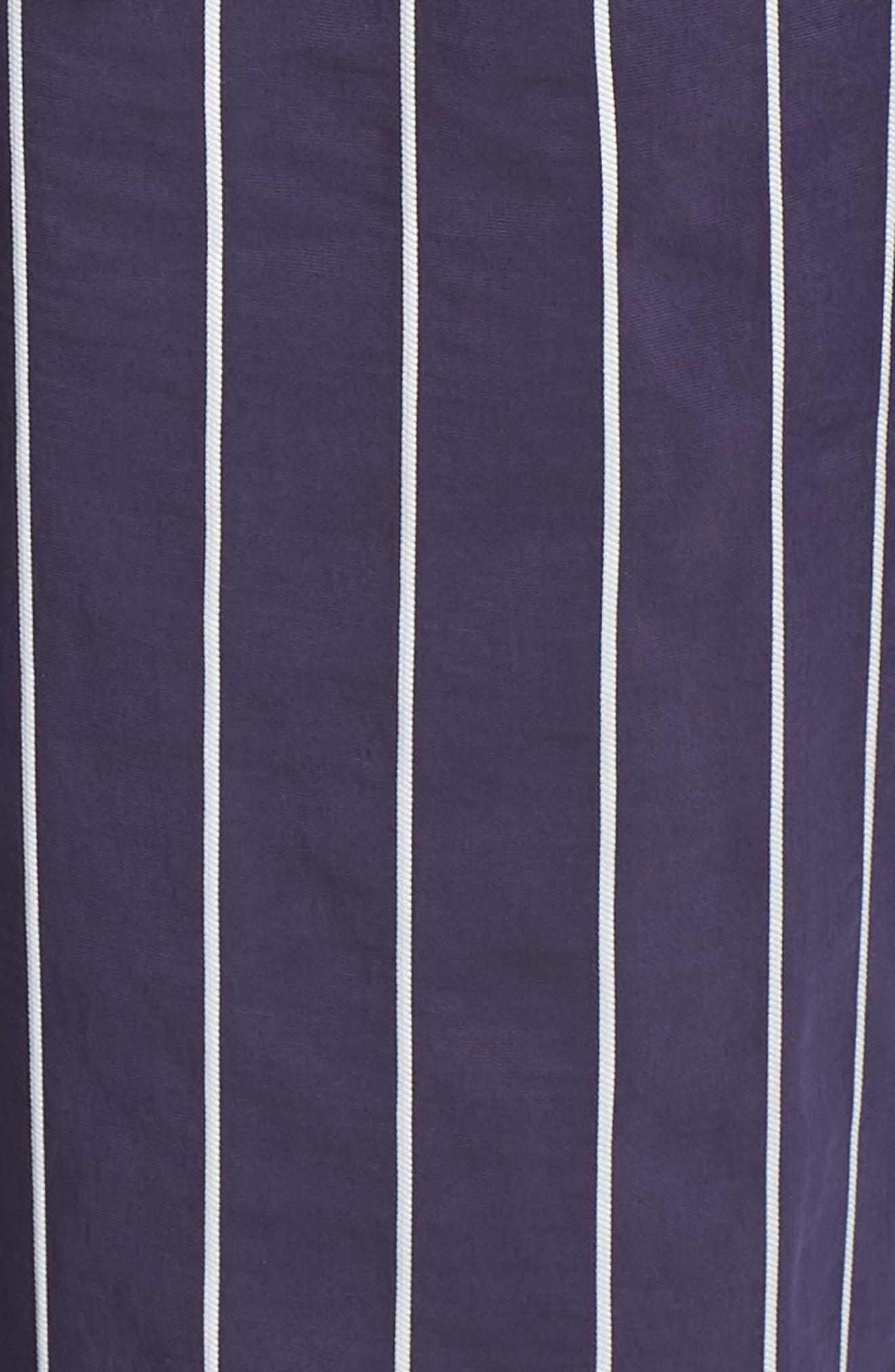,                             Stripe Jumpsuit,                             Alternate thumbnail 6, color,                             NAVY