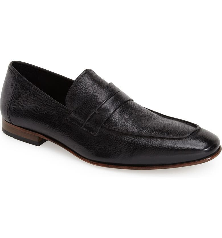 KENNETH COLE NEW YORK 'Stick with Me' Penny Loafer, Main, color, 001