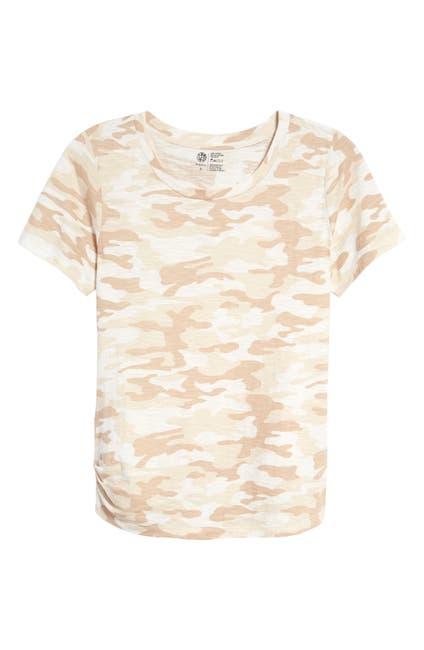 Image of Bobeau Camo Printed T-Shirt