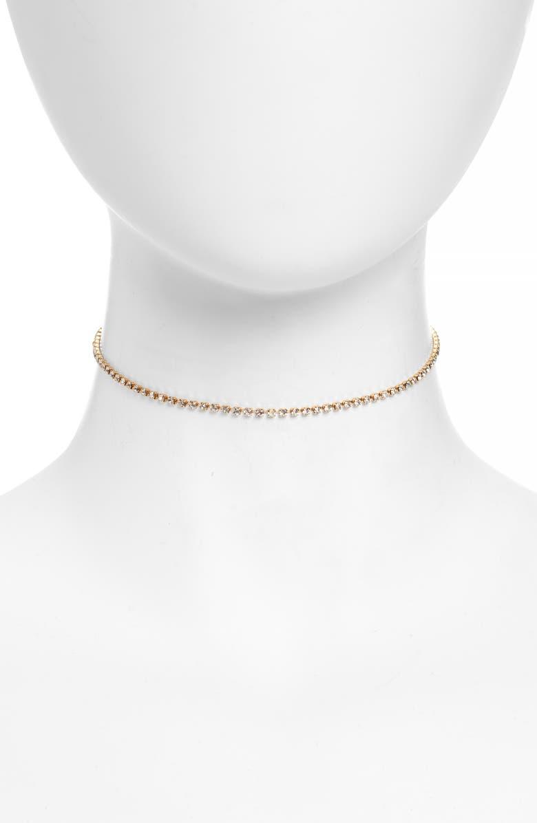 UNCOMMON JAMES BY KRISTIN CAVALLARI Purdy Necklace, Main, color, GOLD