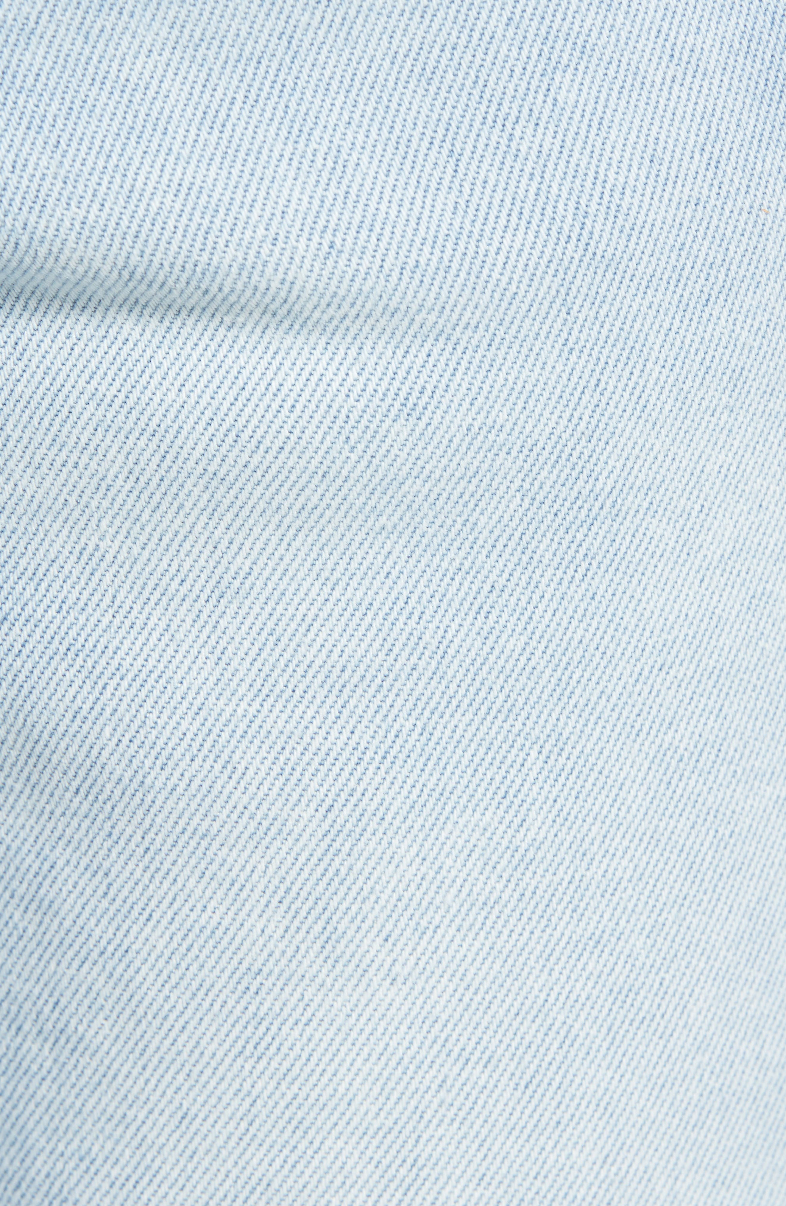 ,                             Greyson Skinny Fit Jeans,                             Alternate thumbnail 6, color,                             MYKONOS