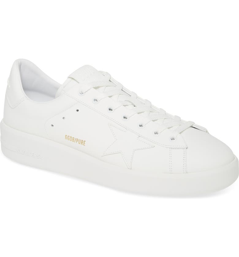 GOLDEN GOOSE PURESTAR Low Top Sneaker, Main, color, 100