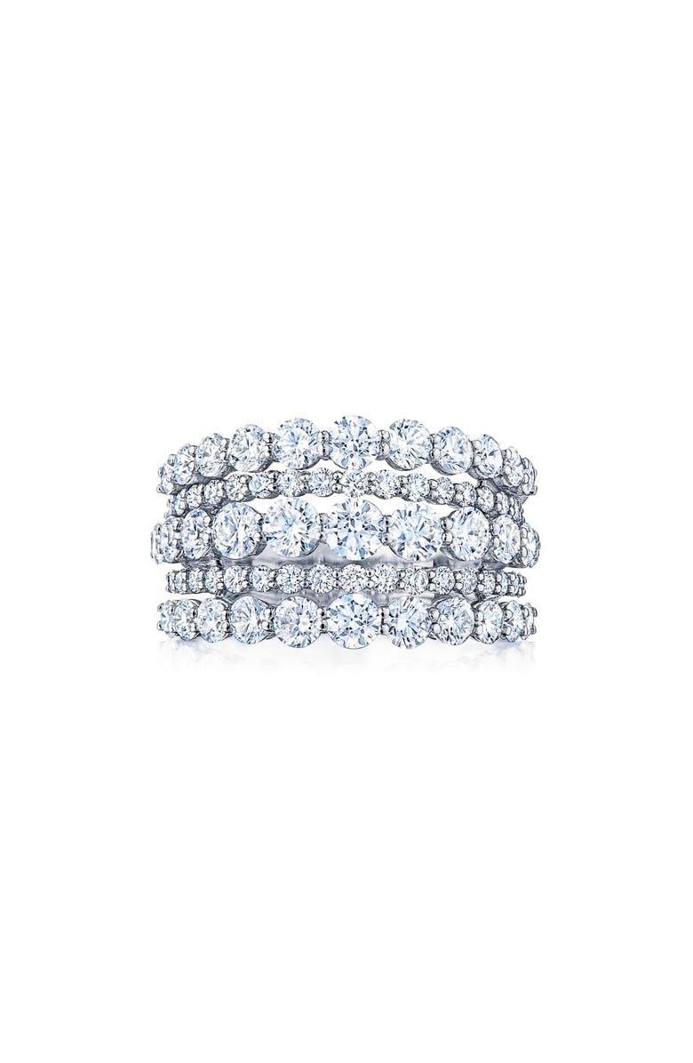 KWIAT Eclipse Multi Row Diamond Ring, Main, color, 711