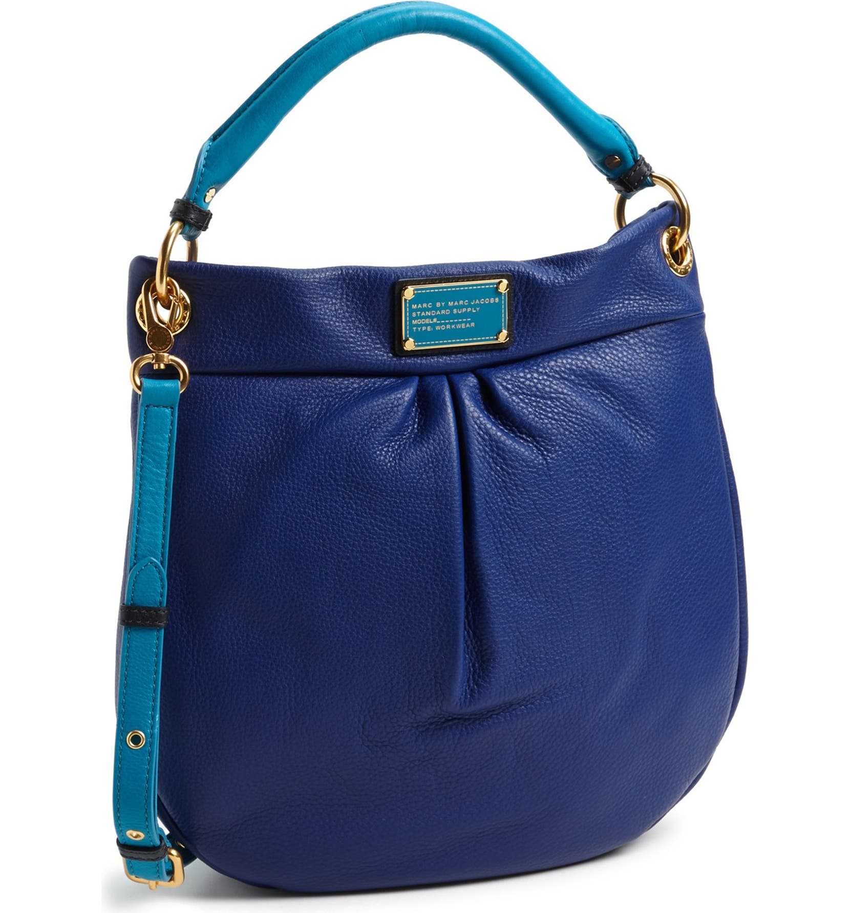 72d154b5c91 MARC BY MARC JACOBS 'Classic Q - Hillier' Leather Hobo | Nordstrom