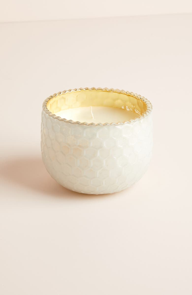 ANTHROPOLOGIE Small Mercury Glass Candle, Main, color, 100
