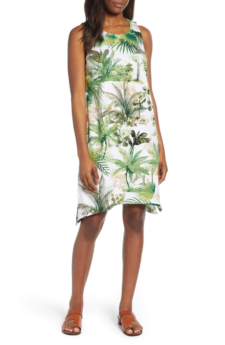 TOMMY BAHAMA Forte Dei Tommy Shift Dress, Main, color, WHITE