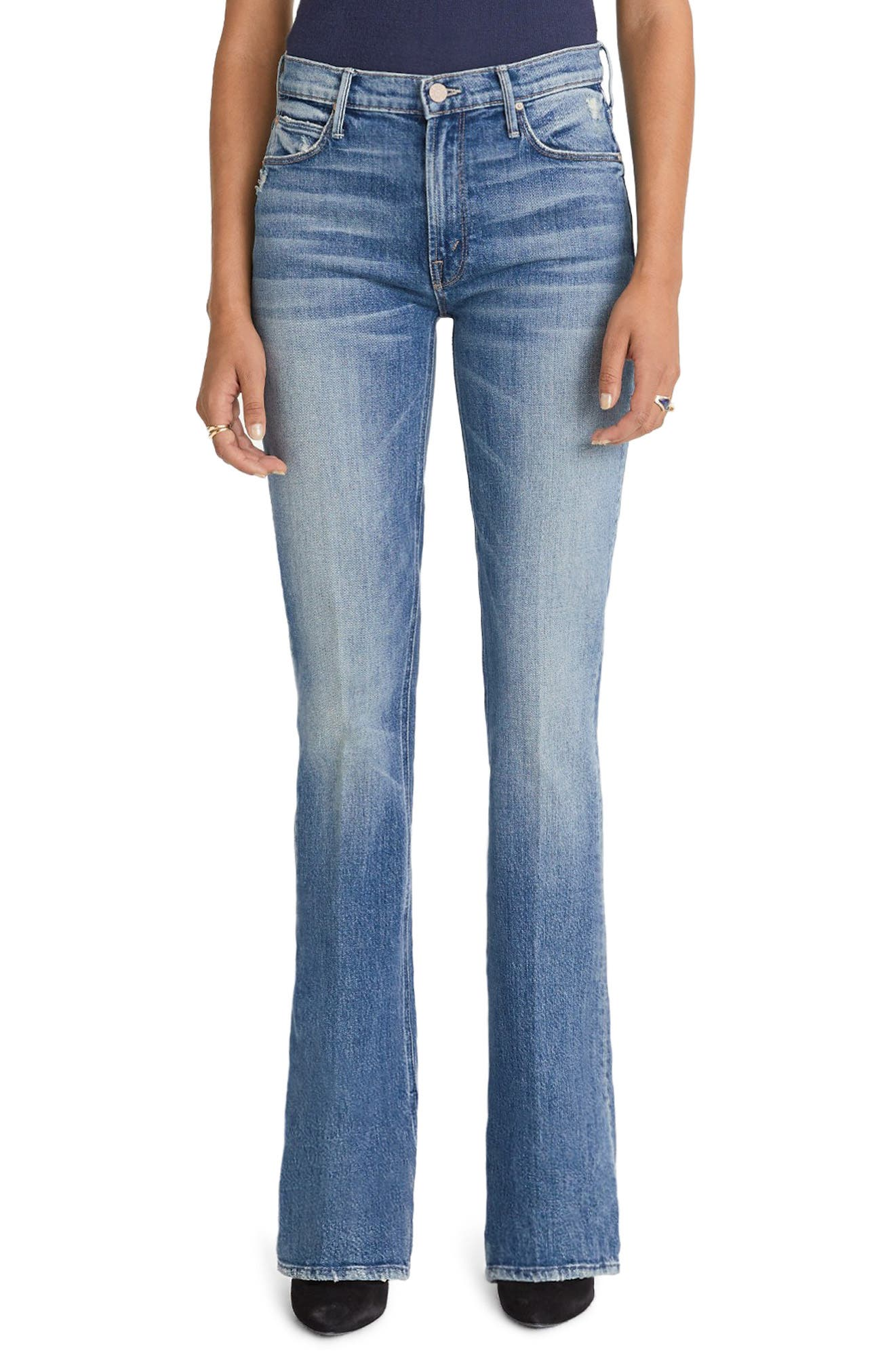 MOTHER The Runaway Skinny Flare Jeans (Popism)