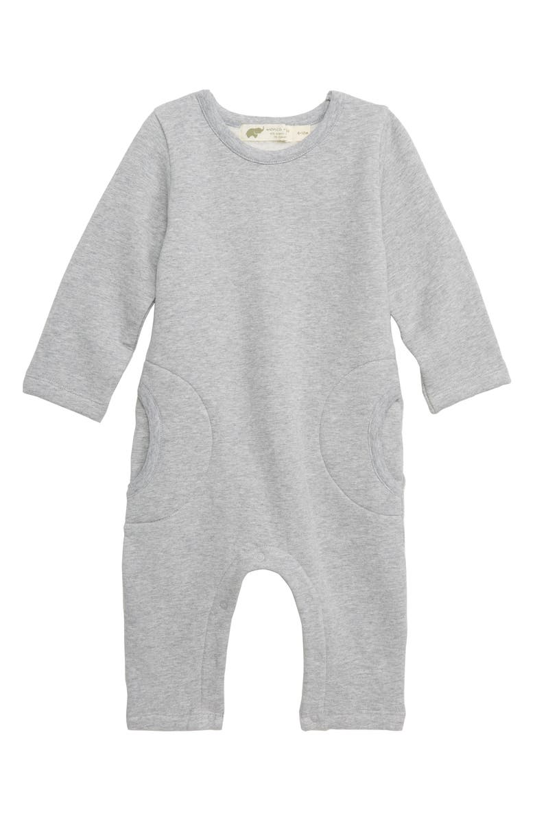 MONICA + ANDY Slouch Romper, Main, color, 020