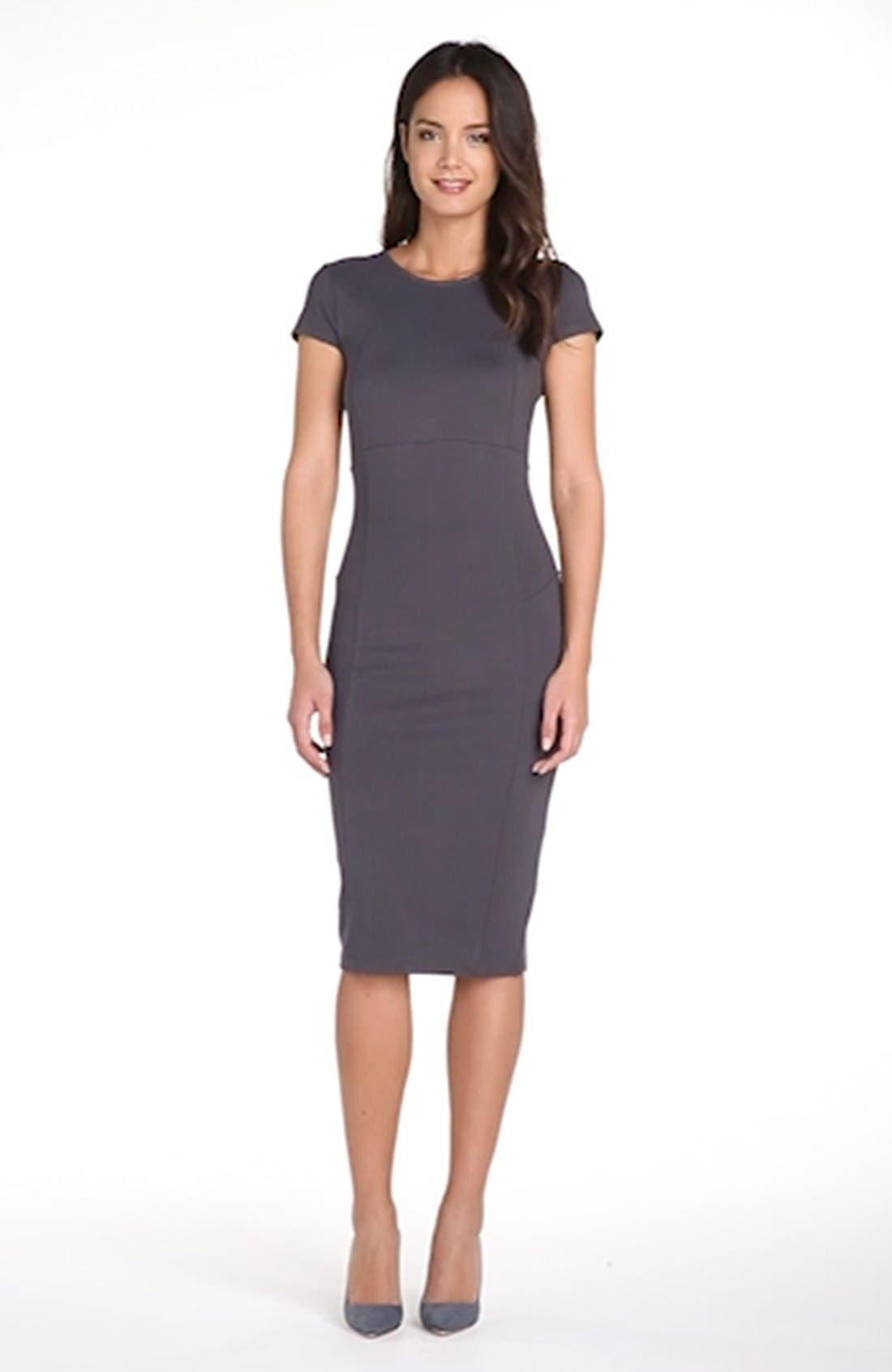 ,                             Ward Seamed Pencil Dress,                             Alternate thumbnail 32, color,                             039