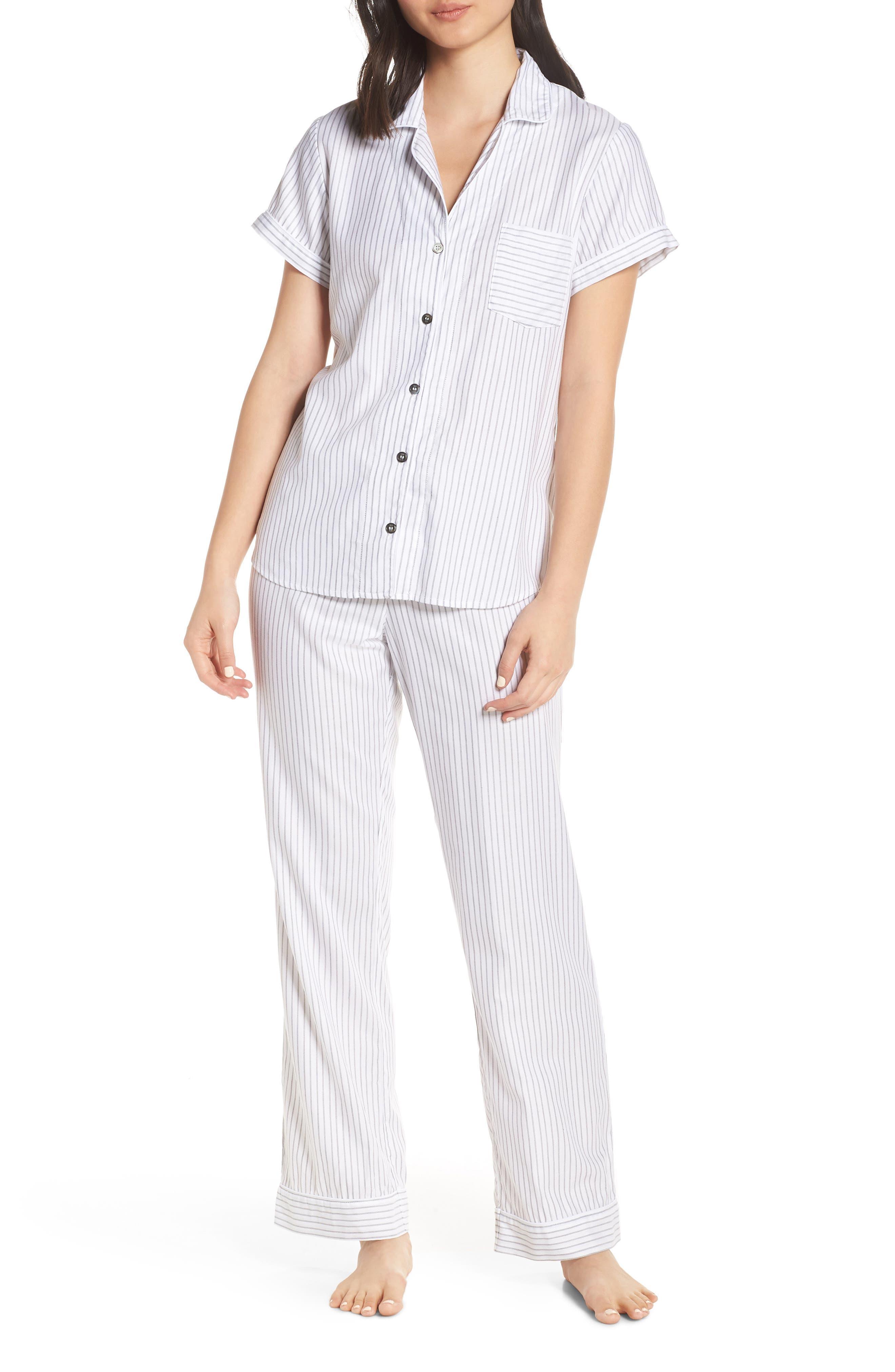 Ugg Rosan Stripe Pajamas, Ivory