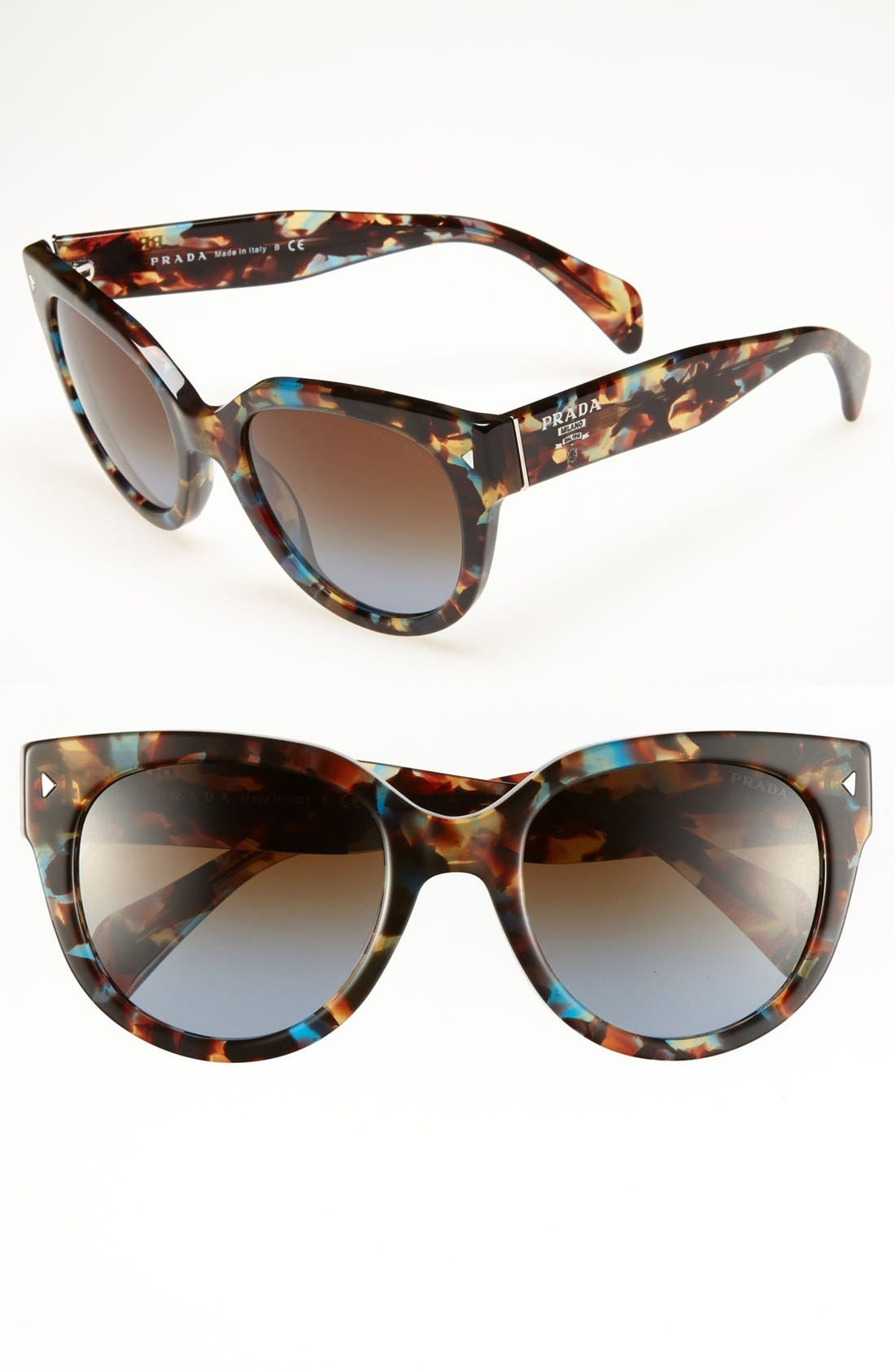 ,                             54mm Cat Eye Sunglasses,                             Main thumbnail 9, color,                             201