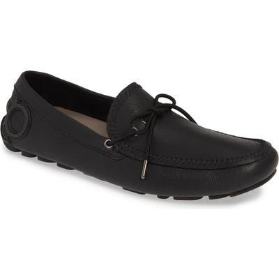 Salvatore Ferragamo Atlante Driving Shoe, M/W - Black