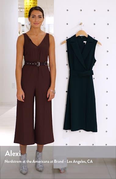 Belted Blazer Sleeveless Dress, sales video thumbnail