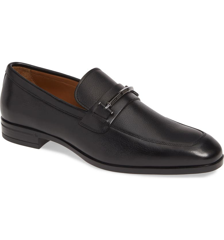 BOSS Portland Bit Loafer, Main, color, BLACK