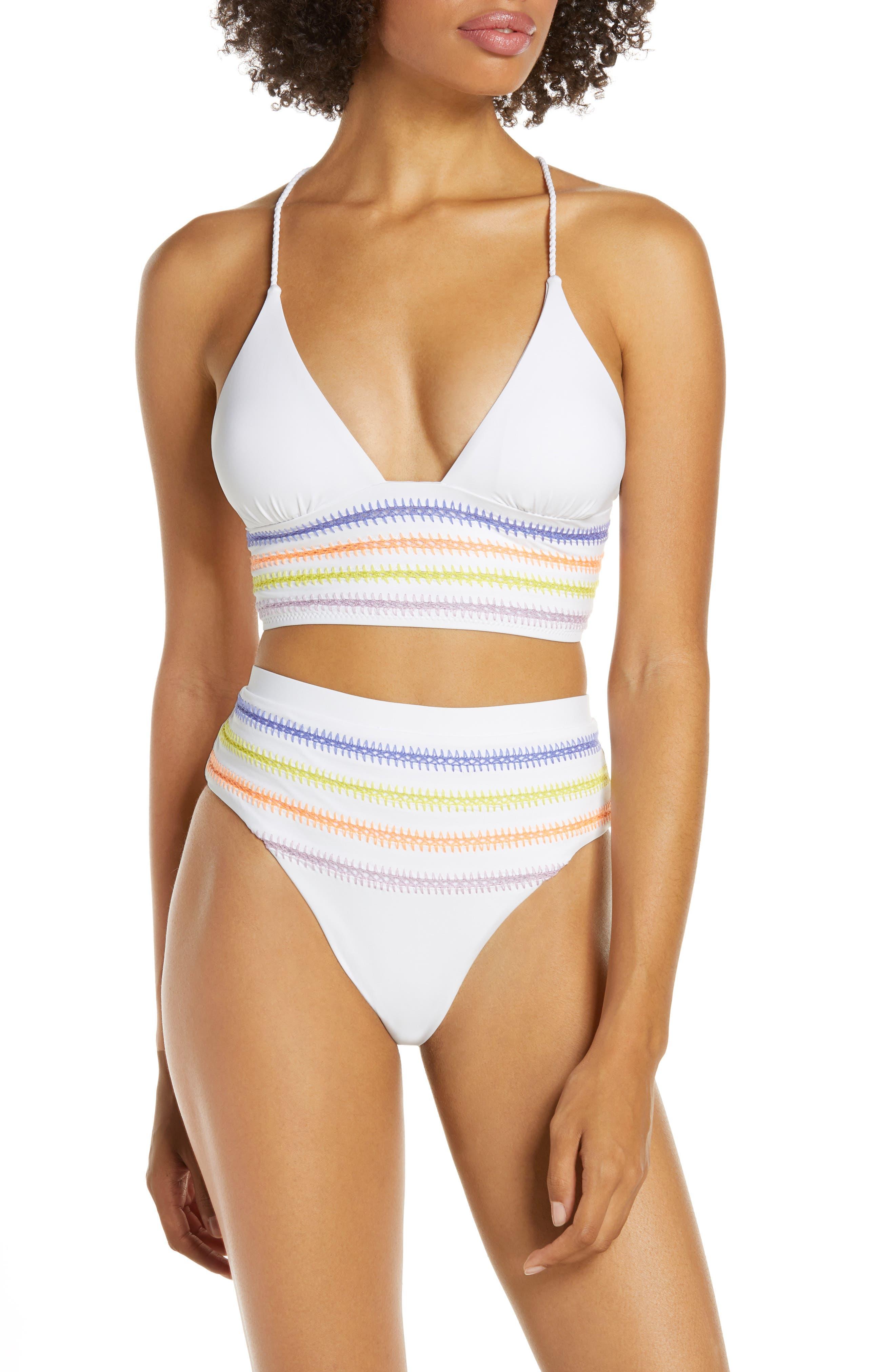 ,                             Kokomo Bikini Top,                             Alternate thumbnail 8, color,                             WHITE