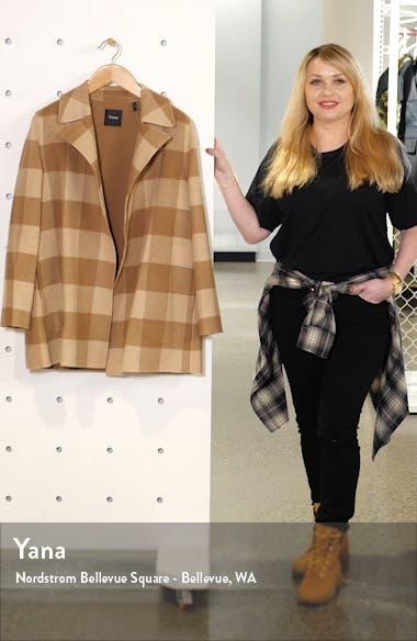 Buffalo Plaid Wool Coat, sales video thumbnail
