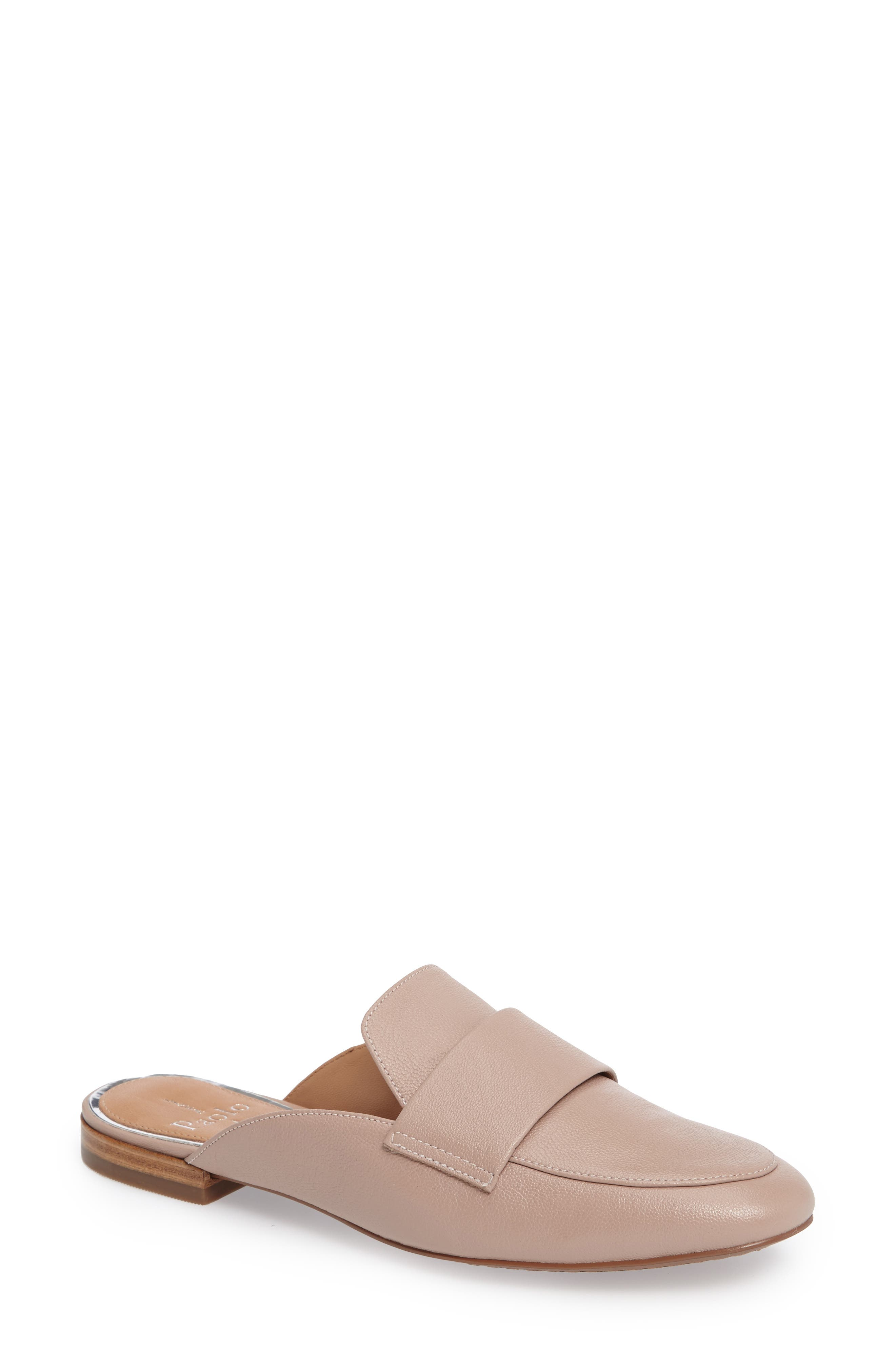 Linea Paolo Annie Loafer Mule- Pink