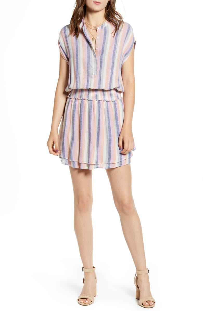 RAILS Angelina Stripe Dress, Main, color, MANDALAY STRIPE