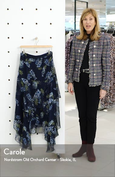 Weeping Willow Tiered Asymmetrical Skirt, sales video thumbnail