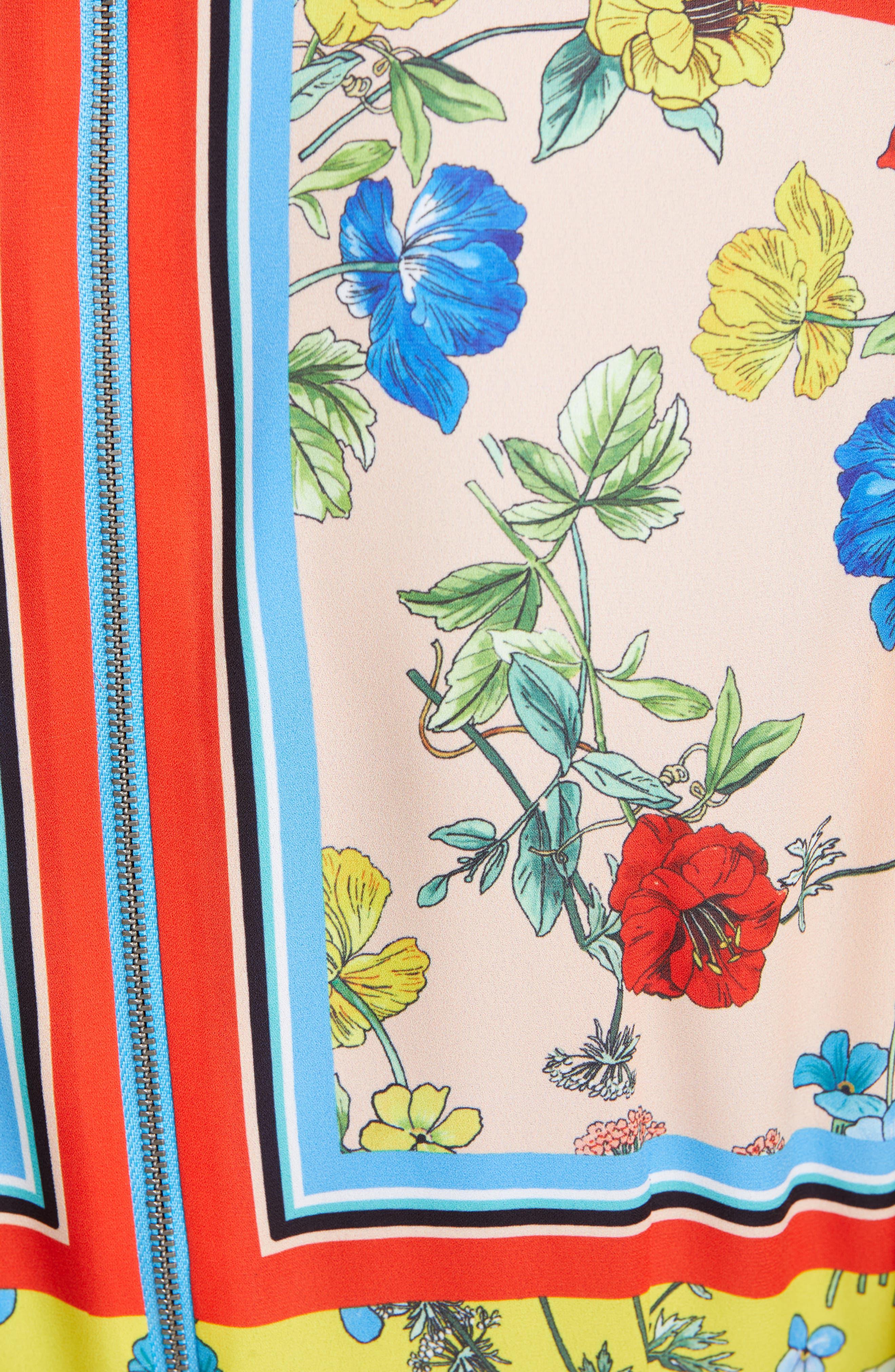 ,                             Farrah Handkerchief Dress,                             Alternate thumbnail 5, color,                             499