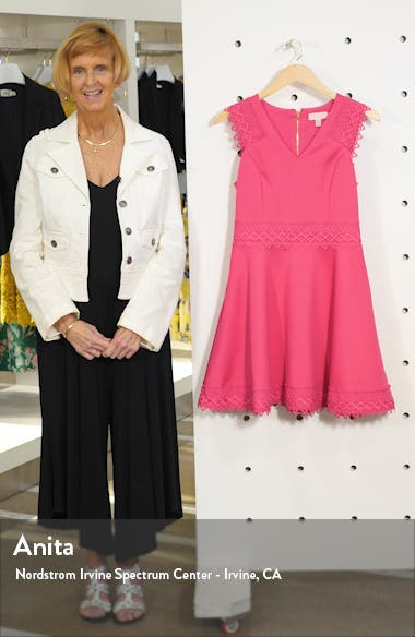 Lace Detail Skater Dress, sales video thumbnail