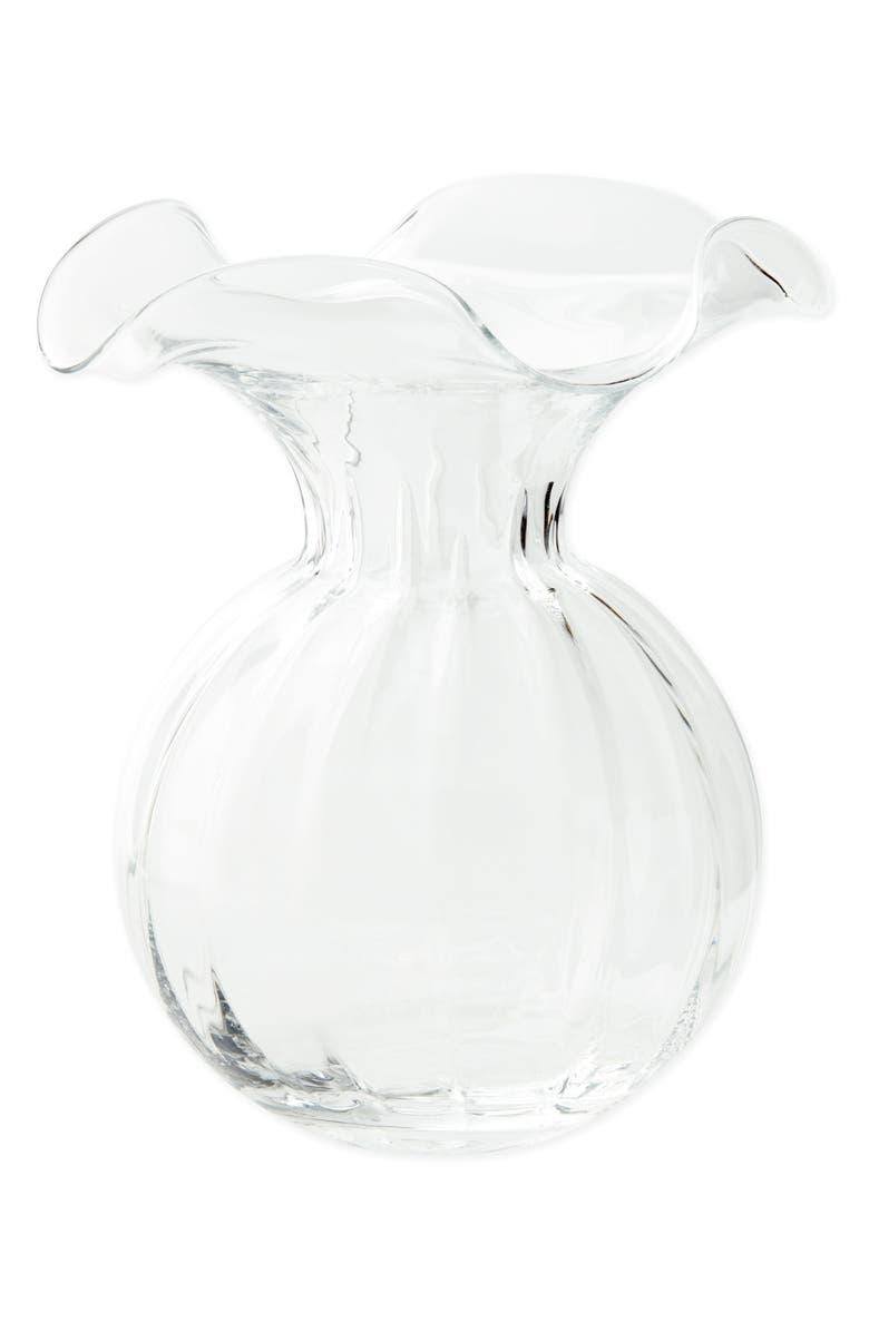 VIETRI Hibiscus Fluted Vase, Main, color, 105