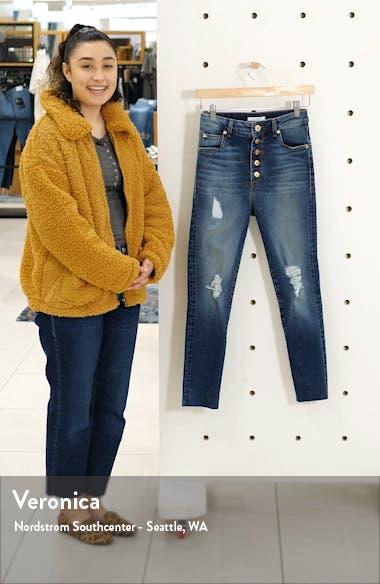 Ellie Ripped High Waist Crop Skinny Jeans, sales video thumbnail
