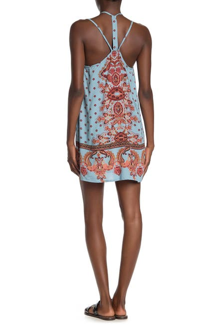 Image of Angie Printed Mini Dress