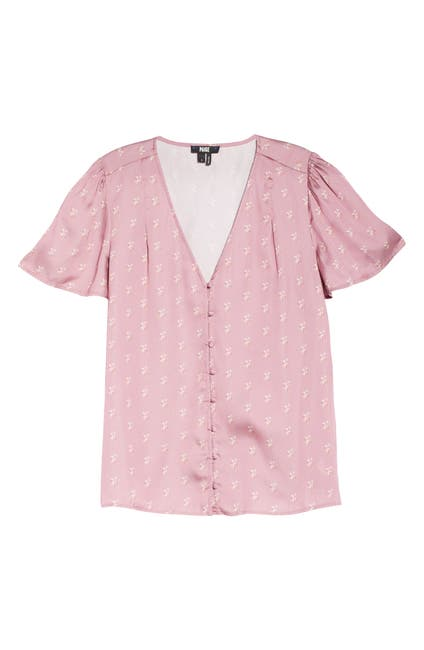 Image of PAIGE Kelly Print Top