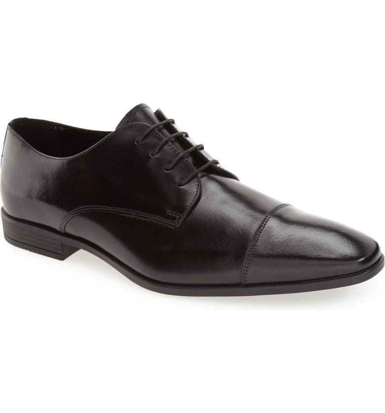 THE RAIL 'Stark' Cap Toe Derby, Main, color, 001