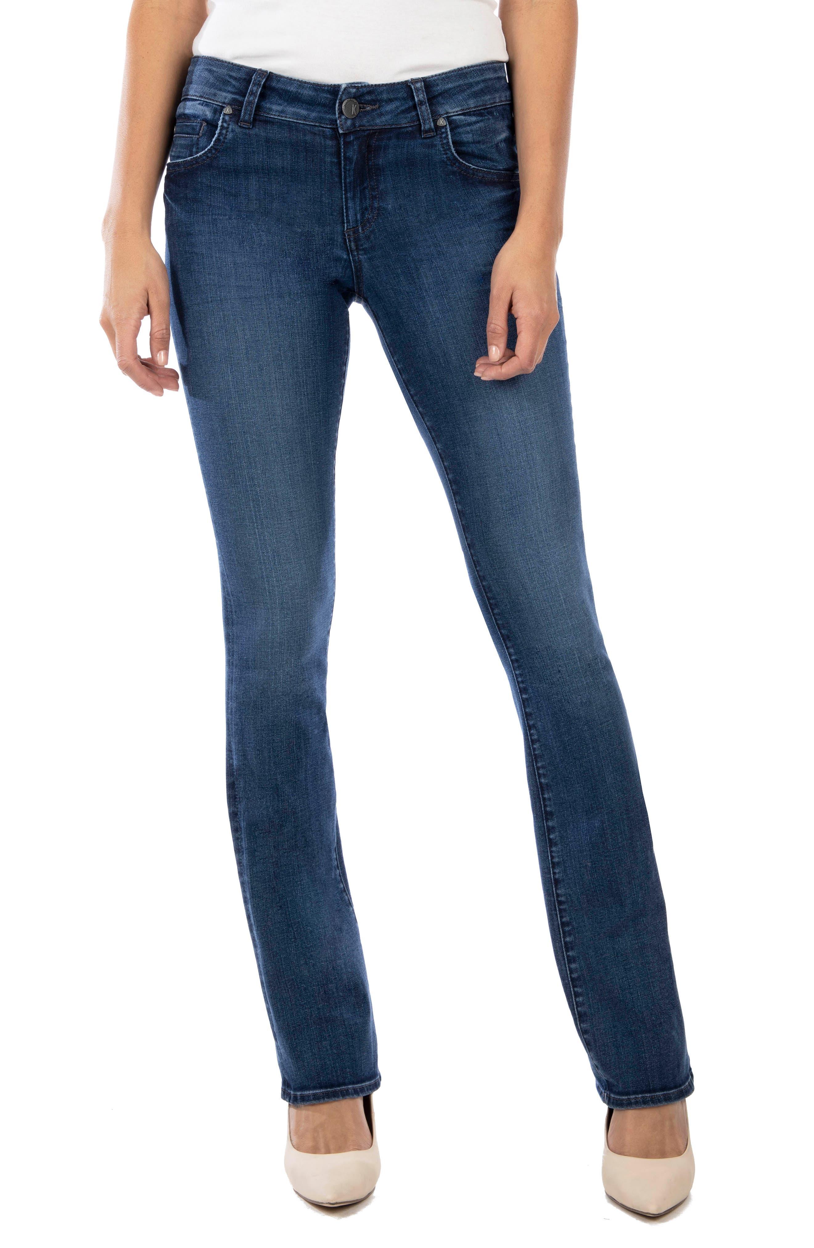 KUT from the Kloth Natalie High Waist Bootcut Jeans (Doer)