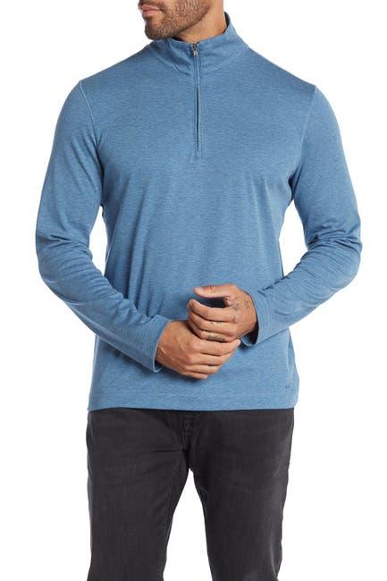 Image of Michael Kors Interlock 1/4 Zip Pullover
