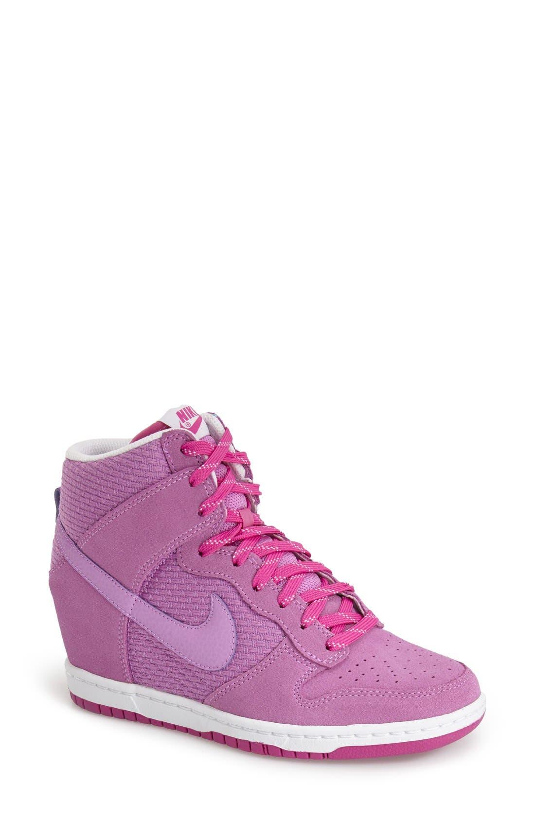 ,                             'Dunk Sky Hi - Essential' Wedge Sneaker,                             Main thumbnail 61, color,                             668