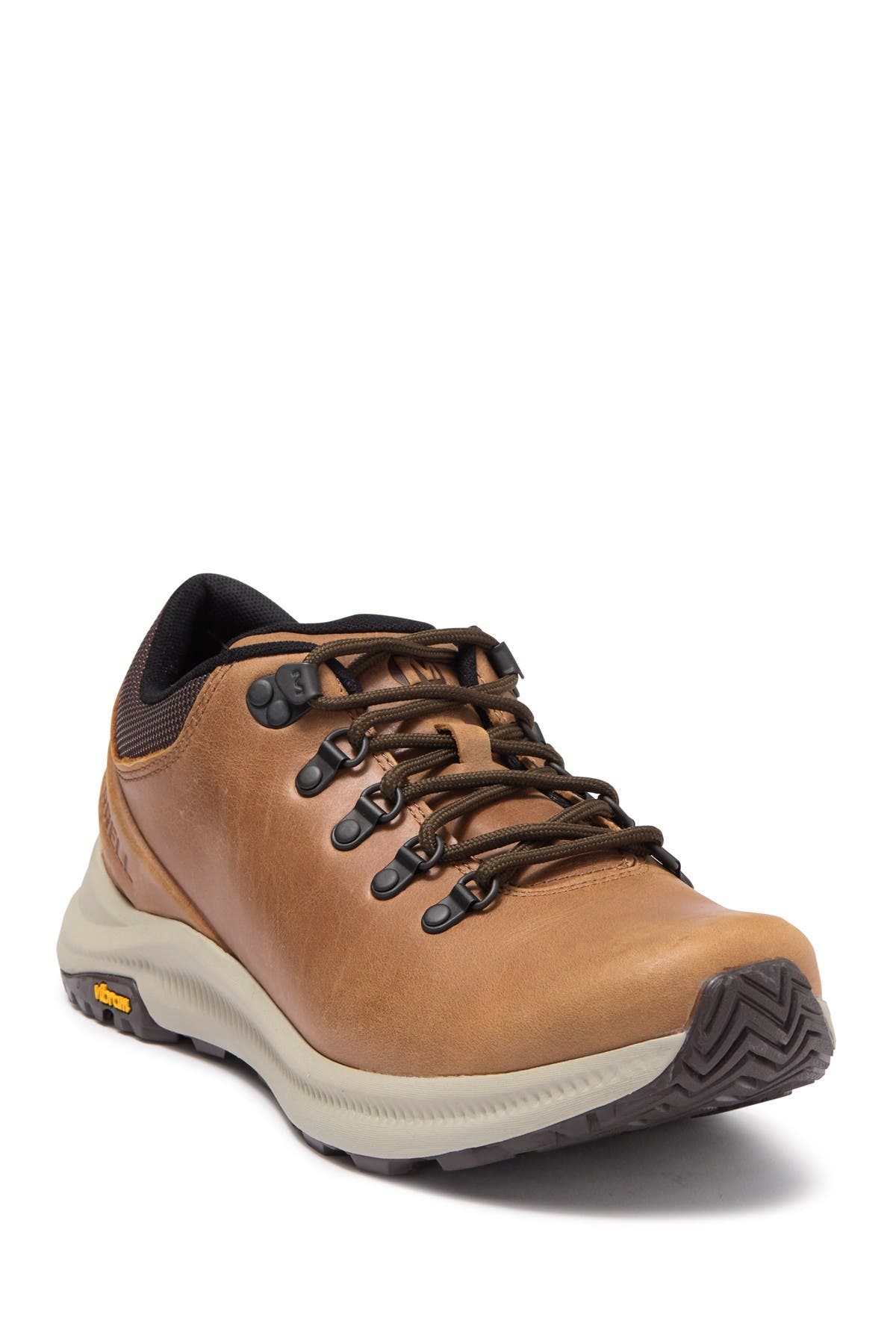 merrell leather sneakers