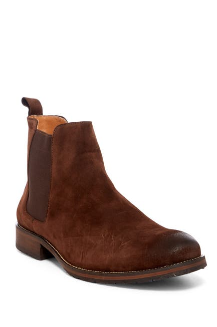 Image of Vintage Foundry Dress Sports Suede Chelsea Boot