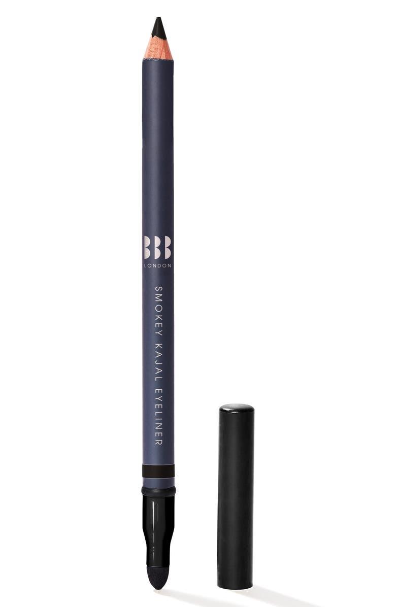 BBB LONDON Smokey Kajal Eyeliner, Main, color, BLACK