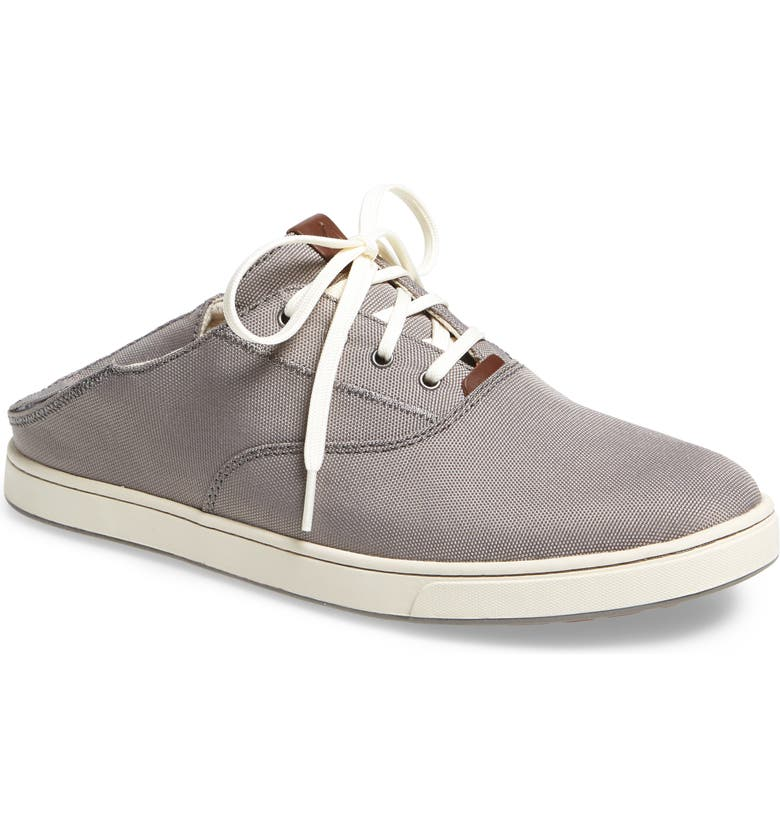 OLUKAI Kahu Collapsible Lace-Up Sneaker, Main, color, 055